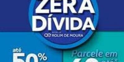 Águas de Rolim de Moura promove campanha Zera Dívida