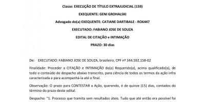EDITAL DE CITAÇÃO e INTIMAÇÃO