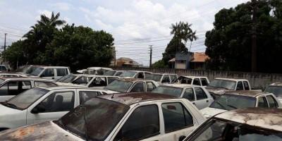 Idaron realiza leilão e põe à venda 108 lotes com carros, motos, barcos, motores e...