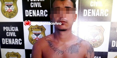 Jovem é preso pelo Denarc suspeito de tráfico de drogas na Capital
