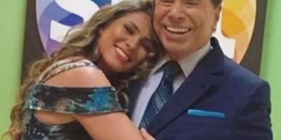 Lívia Andrade revela estado de saúde de Silvio Santos