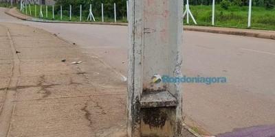 Mais um Jovem morre após colidir motocicleta contra poste em Rondônia