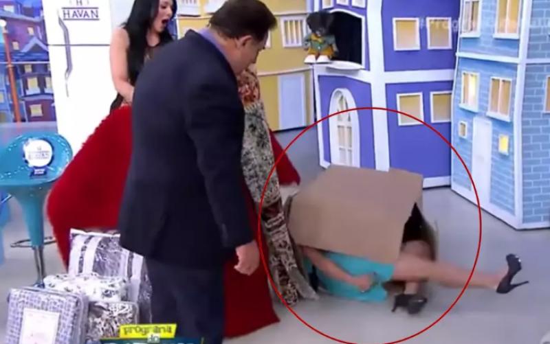 Milene Pavorô precisou ir à polícia após ser chutada por Ratinho