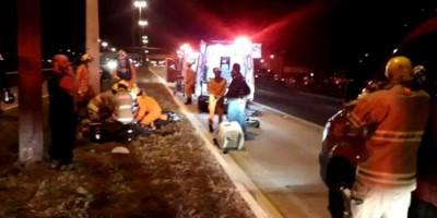 Motociclista bate em poste e morre na hora na zona Leste de Porto Velho