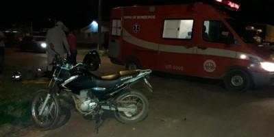 ROLIM DE MOURA: Mãe e filha são levadas ao hospital após acidente em cruzamento;...