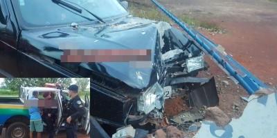 Rolim de Moura – Motorista embriagado perde o controle da direção de veículo e...