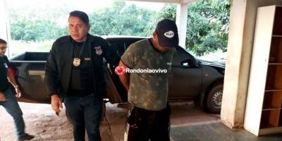 RONDÔNIA: Homicídios prende foragido acusado de matar duas pessoas e ferir outra