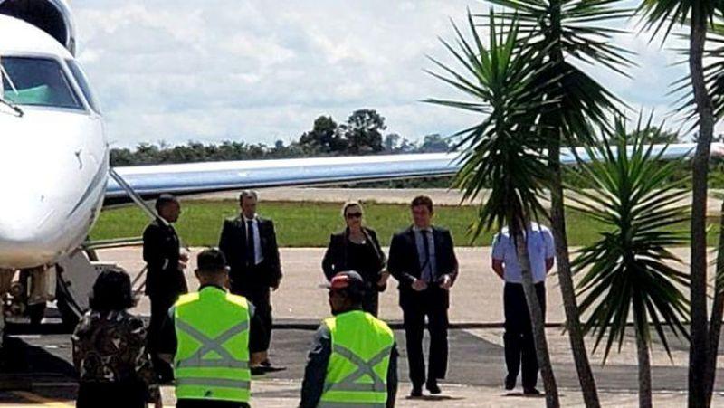 Resultado de imagem para MINISTRO DA JUSTIÇA: Sérgio Moro desembarca em Rondônia para abastecer avião; vídeo