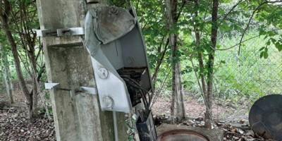 VANDALISMO: Fios de energia são furtados na estação de tratamento de Esgoto de...