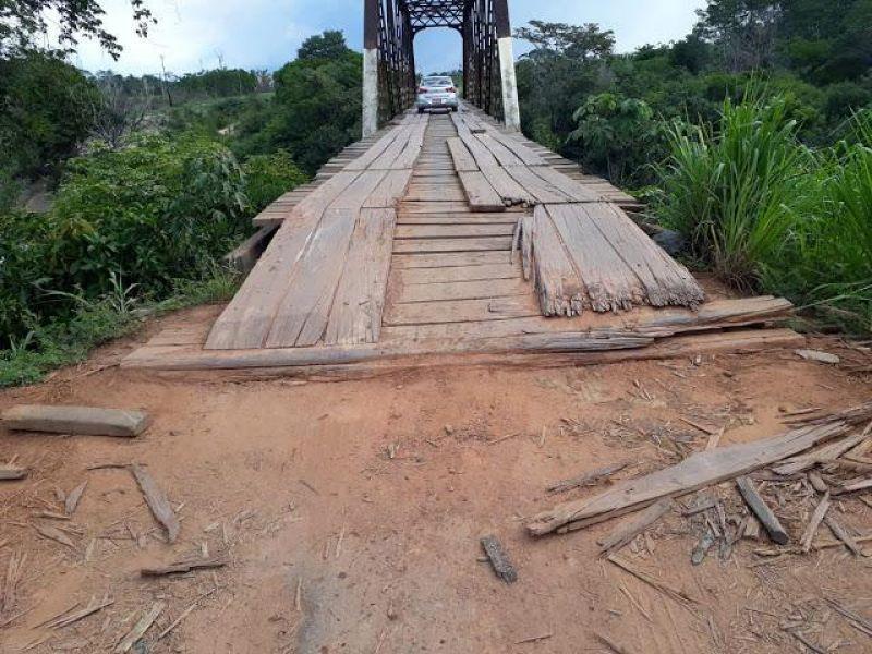 Ponte pode desabar e deixar Guajará-Mirim e Nova Mamoré isoladas