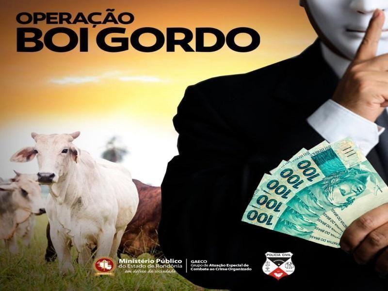 """Empresários e servidores viram alvos durante operação """"Boi Gordo"""" em Rondônia"""