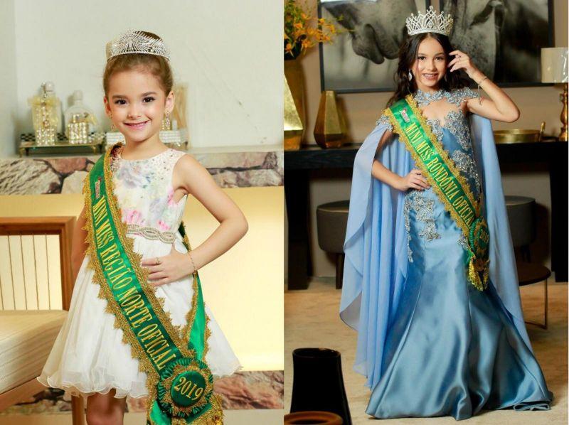 Mini Miss Rondônia irá representar o estado em concurso nacional em Porto Alegre
