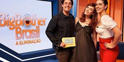 Trio comanda programa de entrevista dos eliminados do BBB