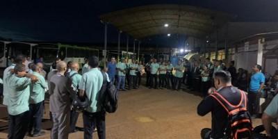 Ônibus voltam a circular em Porto Velho, mas alguns trabalhadores continuam em greve