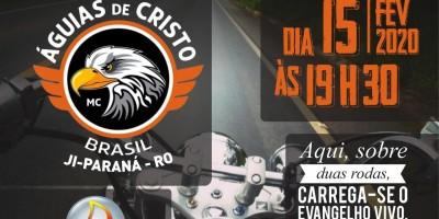 Dia 15 de fevereiro acontecerá 1º Motoculto de Rolim de Moura