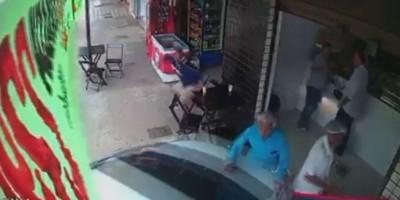 Câmera flagra momento em que idoso de 91 anos é atingido por carro desgovernado no DF;...