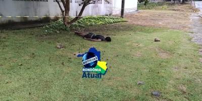 Homem é morto a pedradas na manhã desta sexta em Ji-Paraná