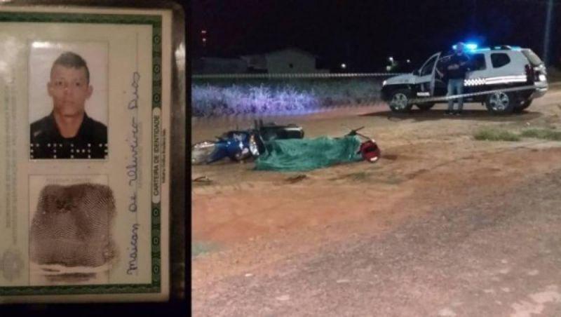 Rapaz de 22 anos é executado a tiros na frente da esposa e filha