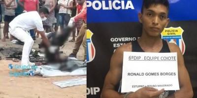 Acusado e estuprar menina de 10 anos no Amazonas é esquartejado e queimado por...
