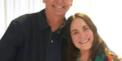 Bolsonaro convida Regina Duarte para Secretaria de Cultura e aguarda resposta até sábado