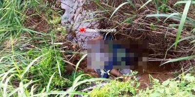 Homem é encontrado morto dentro de córrego em Porto Velho