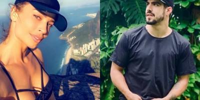 Caio Castro muda visual e Grazi Massafera aprova