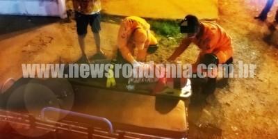 Foragido da justiça tenta matar irmão com facada em Cerejeiras