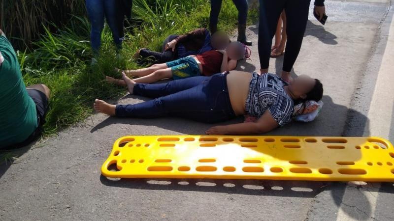 Grave acidente entre Ouro Preto e Jaru deixa feridos