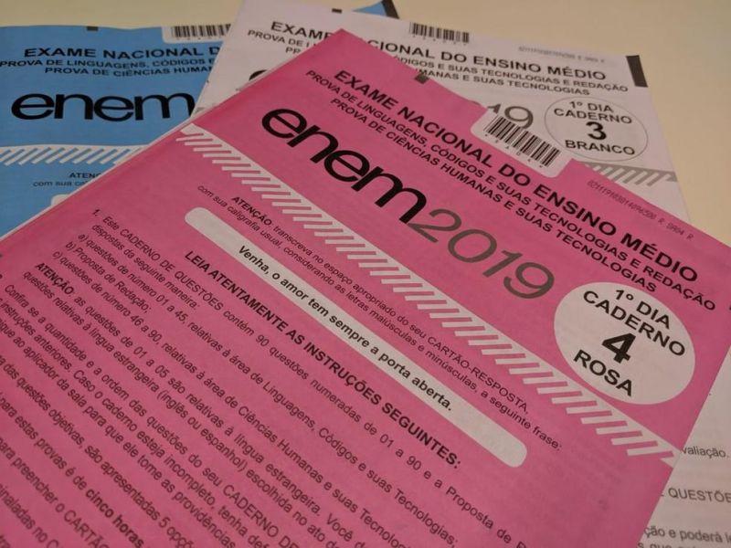 INEP analisa erros na correção das provas do 1º e 2º dias do Enem