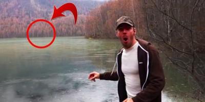 MAIS CURIOSIDADES: Fenômenos místicos em lagos captados por câmeras