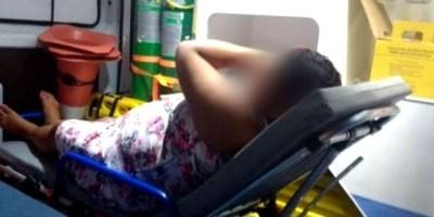 Marido espanca mulher grávida e ataca pai e filha que tentaram impedir