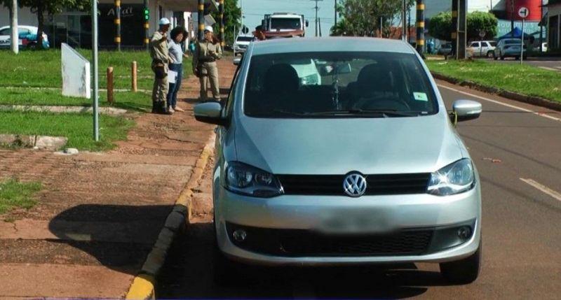 Motoristas não respeitam sinalização de trânsito e se revoltam contra o COMTRAN em Rolim de Moura