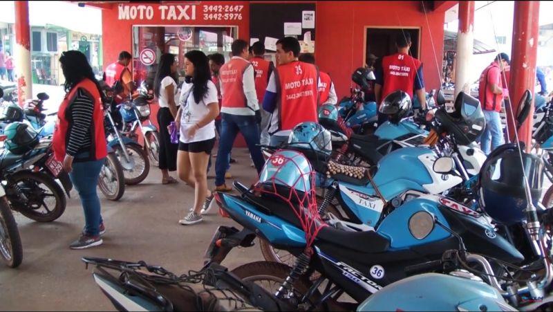 Mototaxistas deverão passar por vistoria no Comtran em Rolim de Moura