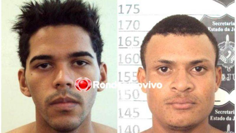 Polícia divulga nome dos presos que fugiram de presídio em Porto Velho