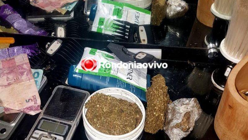 PORTO VELHO: Denarc fecha salão de beleza que funcionava de fachada para o tráfico de drogas
