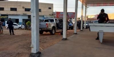 Quadrilha rouba caminhonete, mata proprietário e acaba presa em Cacoal
