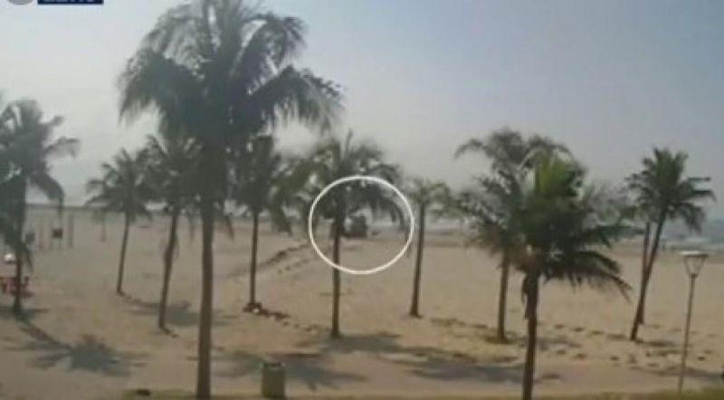 Resultado de imagem para mulher atropela trator em praia