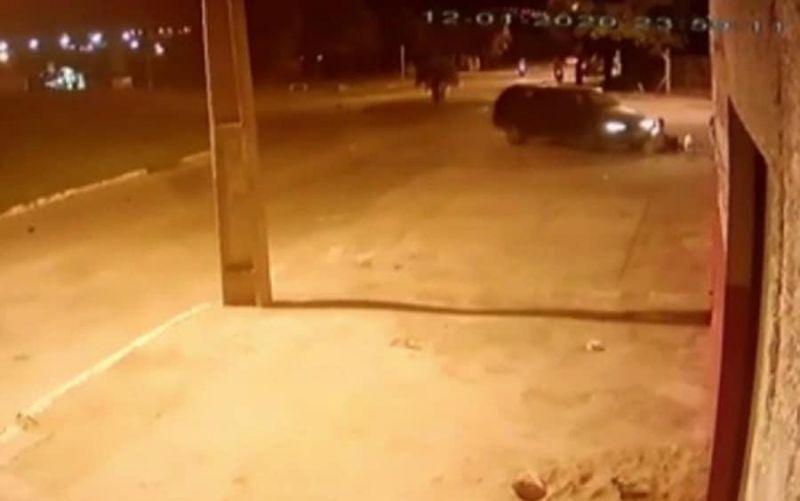 Vídeo: Motorista bêbado atropela quatro crianças que brincavam em calçada em Goiânia