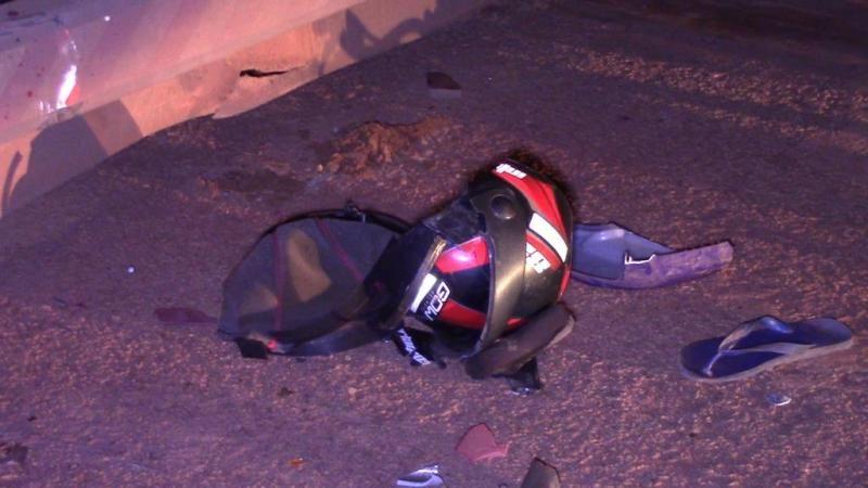 Motociclista é socorrido em estado grave após bater na traseira de carreta estacionada em Rolim de Moura