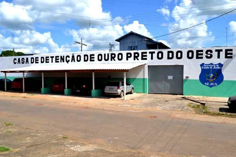 Quinze presos tentam fugir de Presídio de Ouro Preto do Oeste