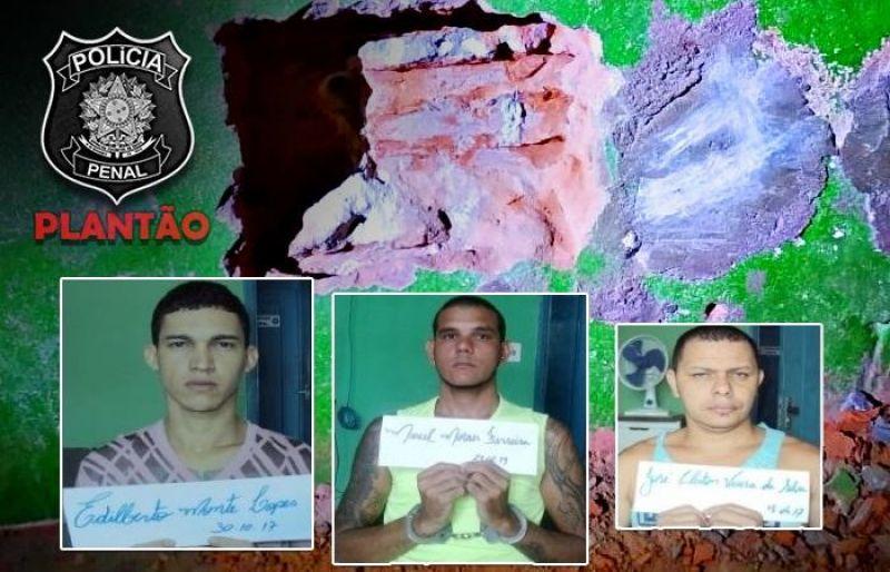 Policiais penais impedem nova fuga de detentos que participaram de fuga em massa em Ji-Paraná
