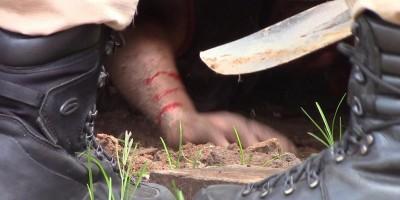 Mecânico fica ferido após ser prensado por ônibus em Rolim de Moura
