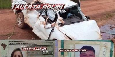 Vítimas de grave acidente em zona rural de Castanheiras são identificadas