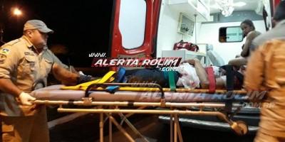 Durante briga em festa, dois homens são  esfaqueados nesta madrugada em Rolim de Moura;...