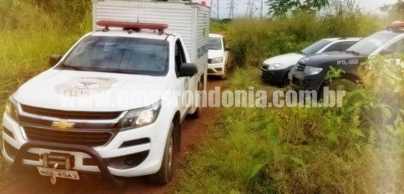 Corpo de homem é encontrado com marcas de tiro na cabeça em distrito de Porto Velho