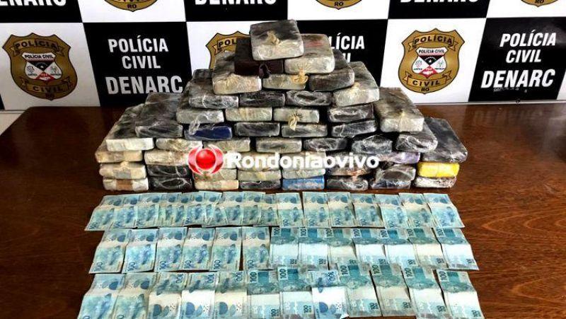 Operação que apreendeu mais de R$ 1 milhão em drogas em 2019, prende traficantes em Guajará-Mirim