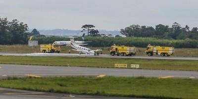 Paraná: Avião falha na aterrissagem e fecha pista principal do Afonso Pena por 4 horas;...
