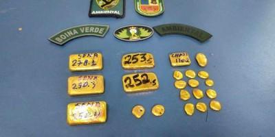 Pescado ilegal e ouro avaliado em R$ 360 mil são apreendidos em embarcação em Manaus