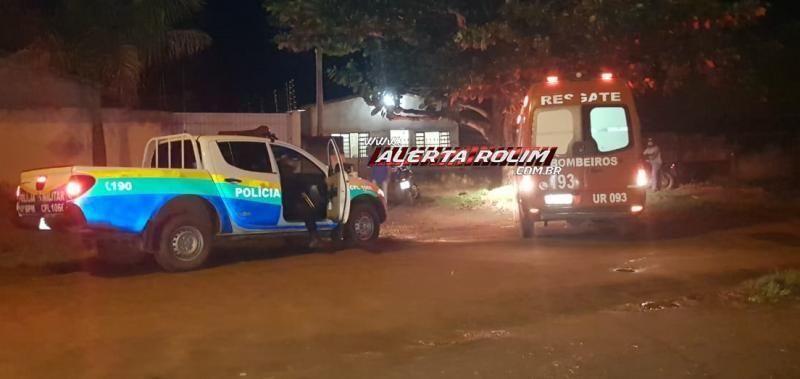 Rolim: Irmão esfaqueia irmã no peito no bairro Beira Rio; Polícia prende suspeito minutos depois; veja o vídeo