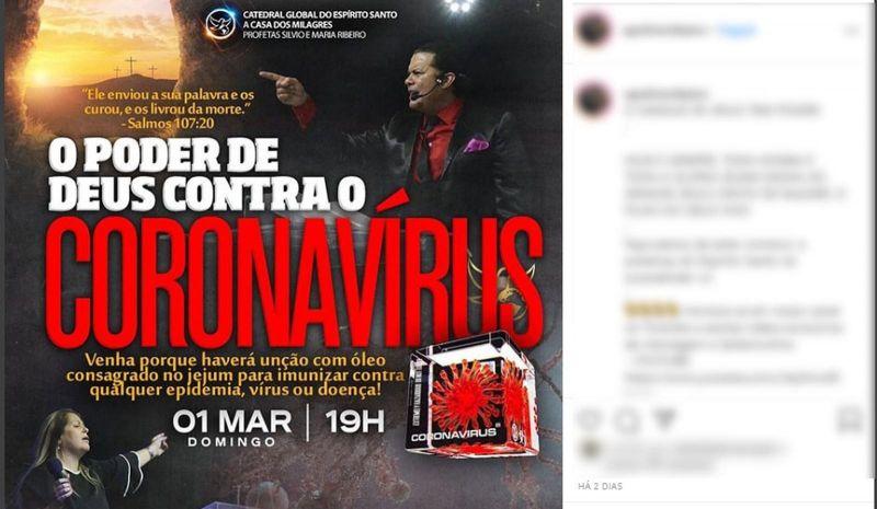 Polícia investiga igreja que teria prometido imunizar fiéis do coronavírus em Porto Alegre